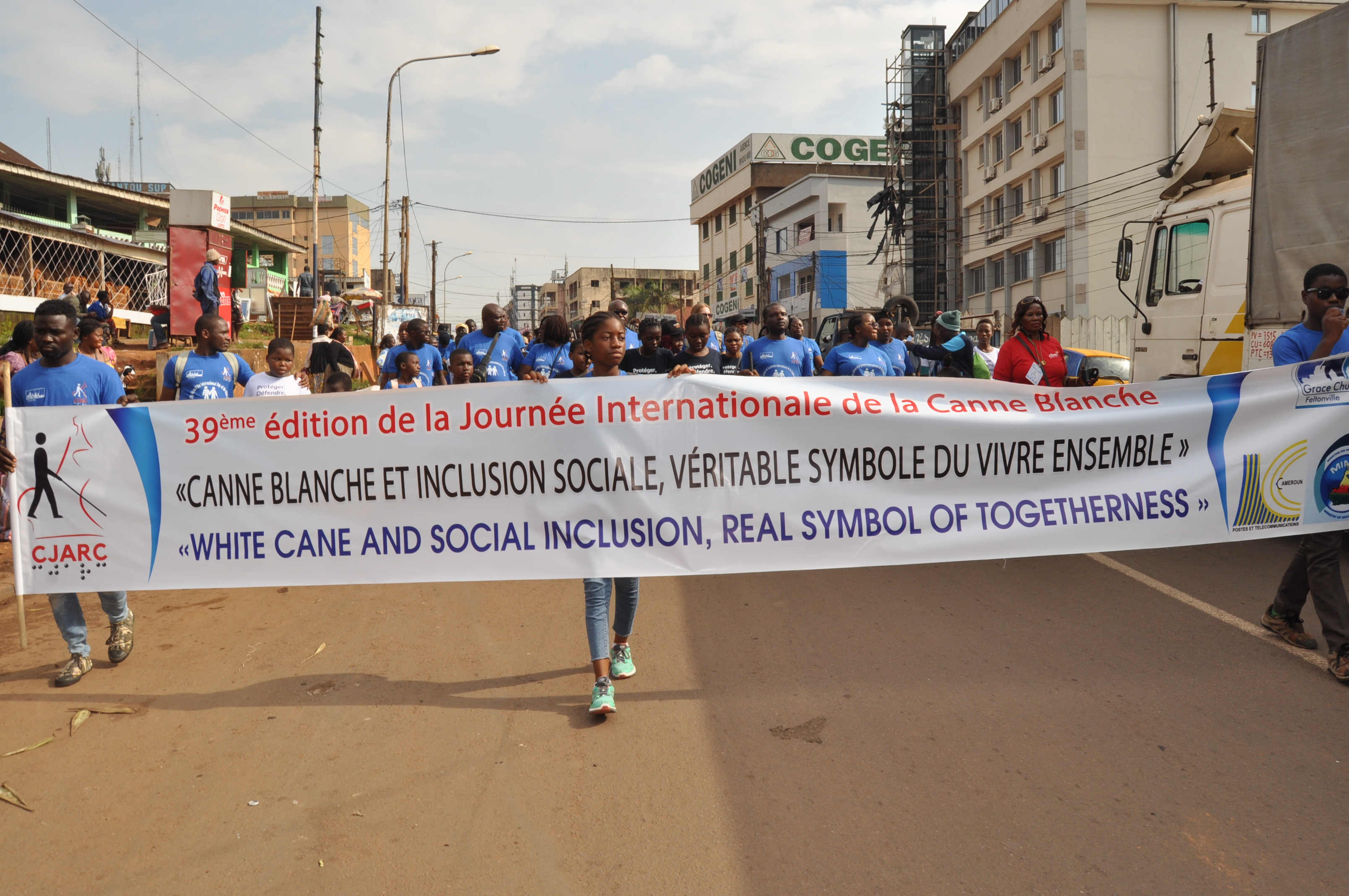 Celebration of the 39th edition of the International Day of the White Cane